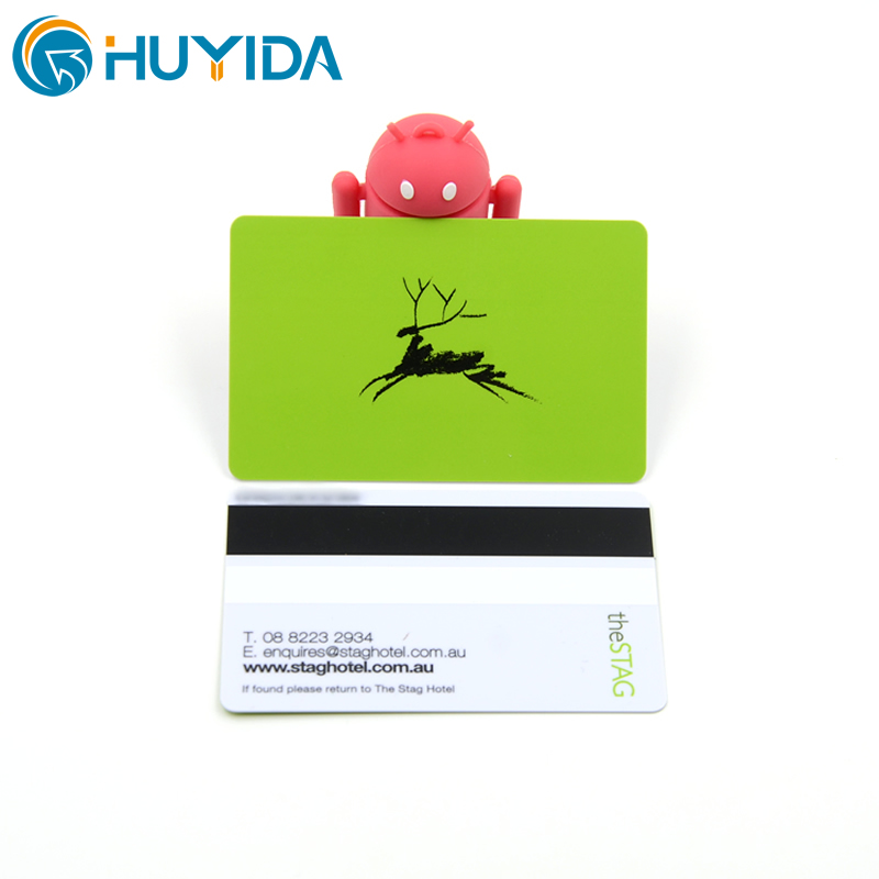 Classical PVC Laminated Magnetic Stripe VIP Rewards Card