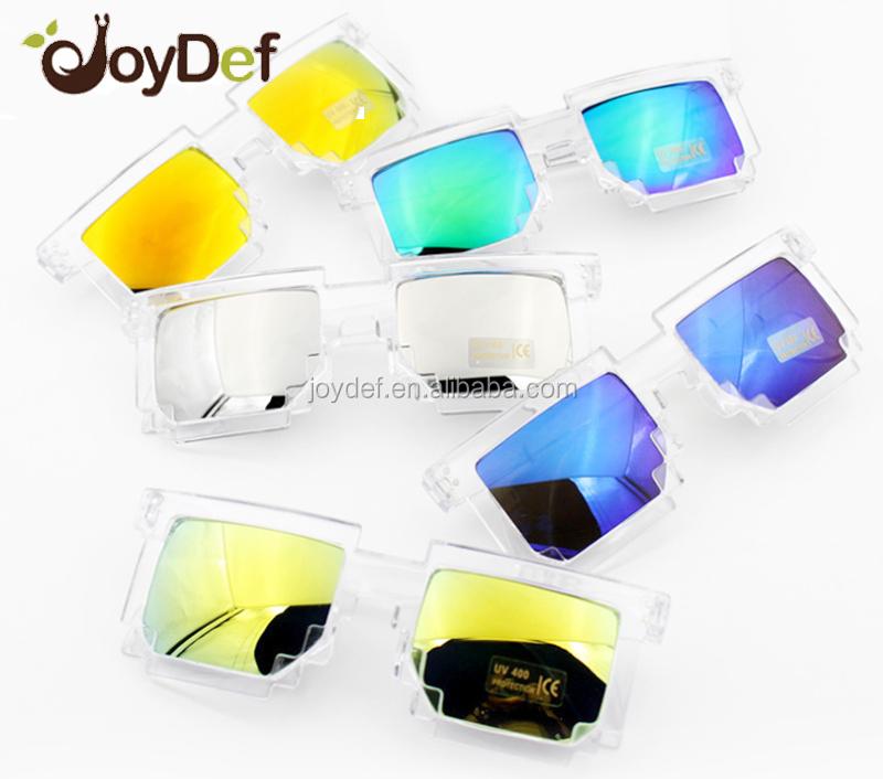 aa568135530bb Faça cotação de fabricantes de De Pixel Personalizadas Óculos De Sol De 8  Bits de alta qualidade e De Pixel Personalizadas Óculos De Sol De 8 Bits no  ...