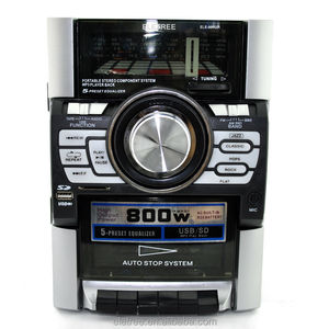EL-990UR Boombox with USB MP3/WMA player/triple speaker system/Cassette/AM FM Tape