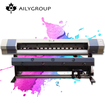 Populaire grootformaat a4 xp600 eco solvent printer eco solvent flatbed printer fabricage