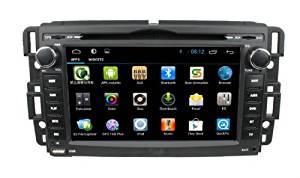 lsqSTAR 7 inch Android 4.4 For Buick 2008-09 Enclave & 2008-09 Lucerne GMC 2007-10 Yukon Denali & Acadia(2007-11) & 2008-10 Sierra Chevy 2007 - 10 Silverado & 2007-10 Tahoe & 2007-10 Suburban & 2007-10 Avalanche & 2006-09 Impala & 2006-07 Monte Carlo & 2007-08 Aveo & 2008 Express Saturn 2007-09