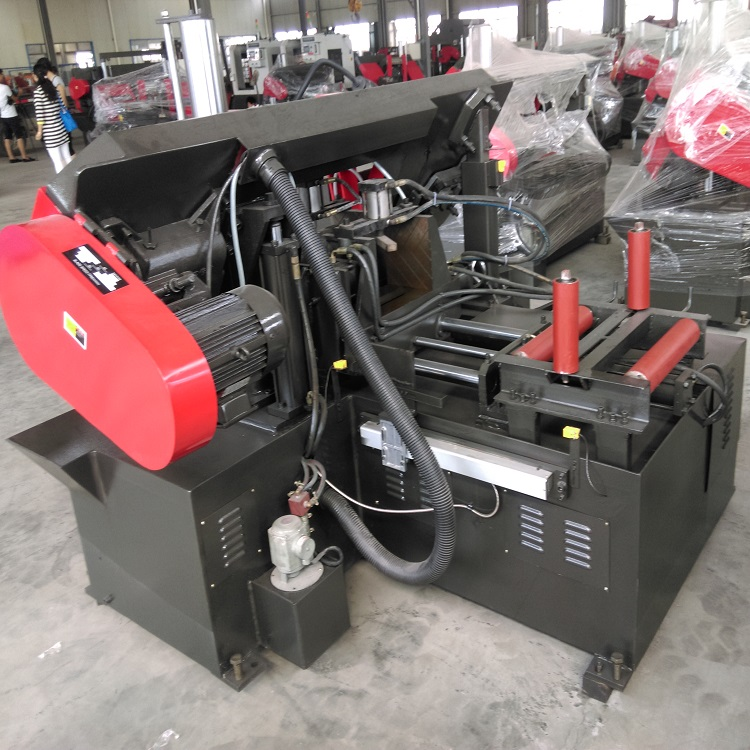 GS320 Continuous Steel Cutting Machine Automatic Band Saw
