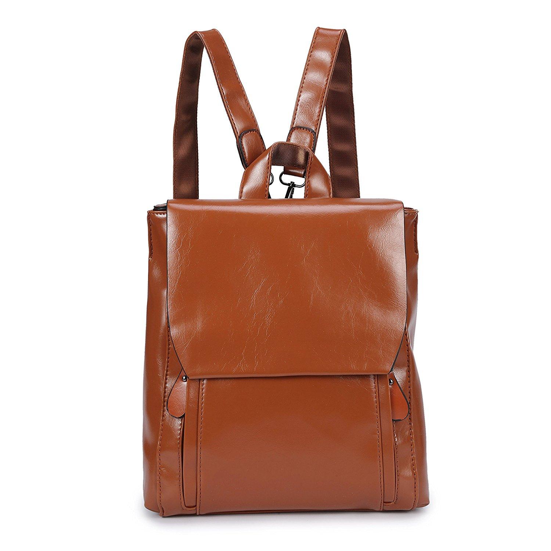 defb03c24087 Get Quotations · Fashion Shoulder Bag Rucksack PU Leather Women Girls  Ladies Backpack Travel bag Ladies Rucksack Shoulder Bag