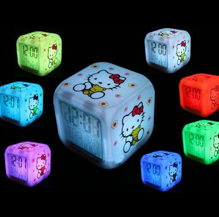 2015 China Supplier Hello Kitty Led Light Color Change Digital Led ...