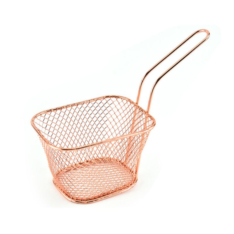 Lixsun High Quality Stainless Steel Mini French Fry Basket For Fried Chip& Chicken