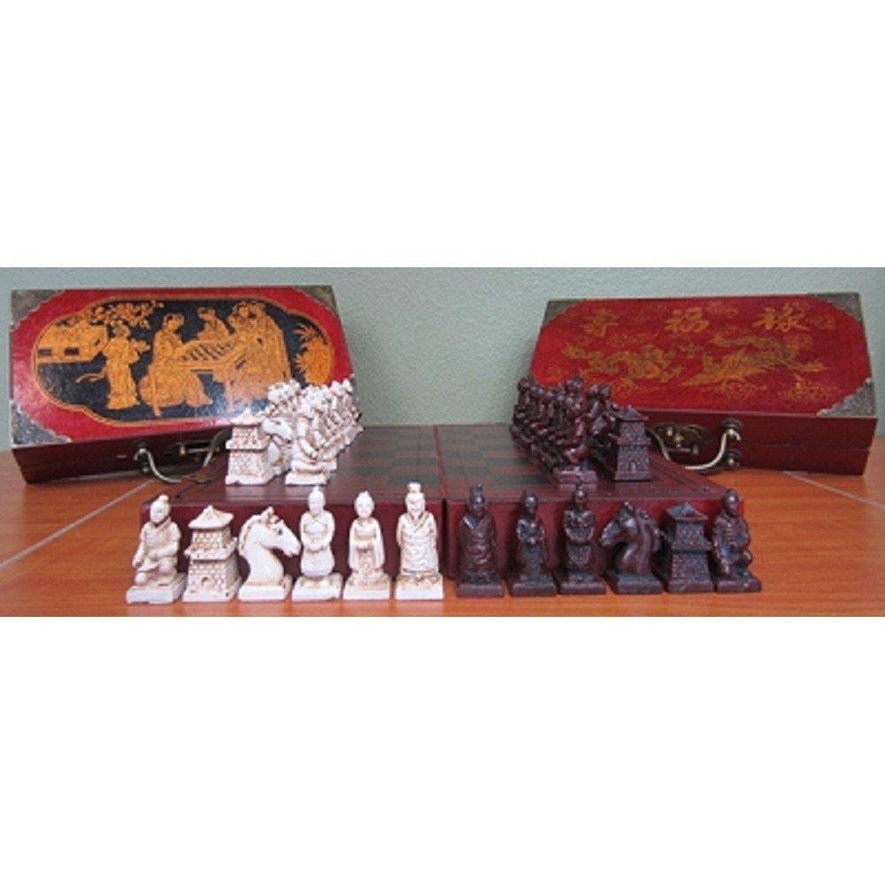 Terracotta Warrior Themed Chess Set