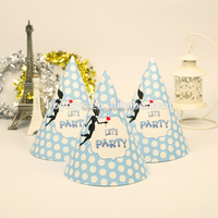 Fashion celebrate christmas paper hat