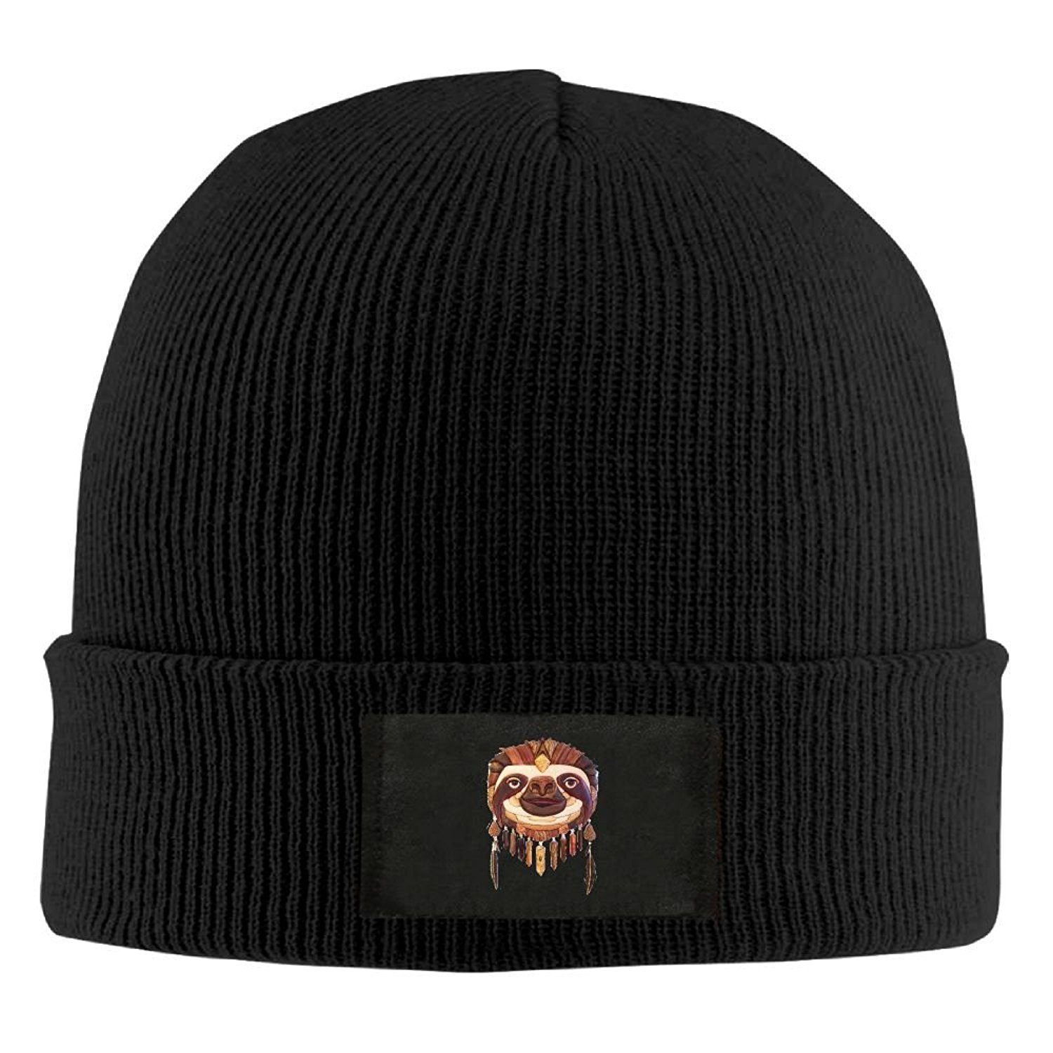 c80350ff75c Get Quotations · WLF Unisex Indonesia Style Sloth Fashion Warmth Four  Colors Beanie Hats Skull Cap