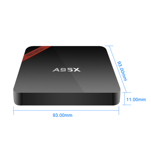 Full hd 1080p video android tv box 4k 3D video output kd 16.1 2.4G WIFI and 100M Ethernet