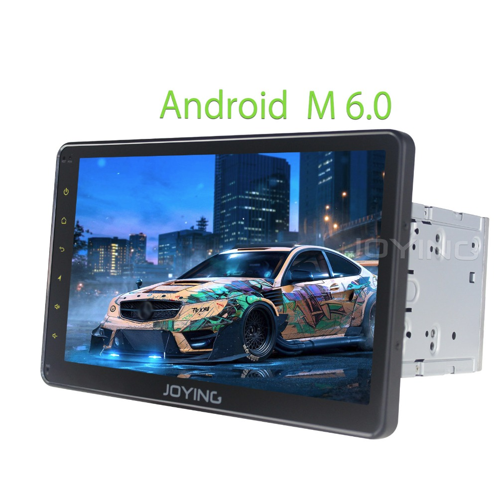 Joying Quad Core Double 2 Din Car Stereo 10.1 Inch Portable In Car Dvd Player For Headrest Entertainment