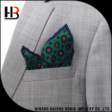 100% Wool Men's Suit Pocket Square Fold