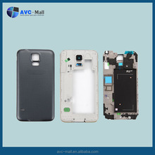mobile phone spare parts for Samsung galaxy S5 G900F full housing black