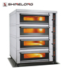 Commercial Hotel Kitchen Equipment 4-Layer 16-Tray Electric Deck Oven Price