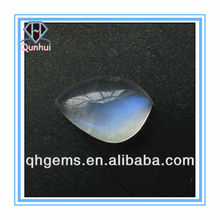 sparkly milky irregular shaped cz zirconia stone
