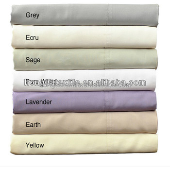 Rayon Bamboo Fabric Bed Set,bed Sheets Wholesale By China Supplier
