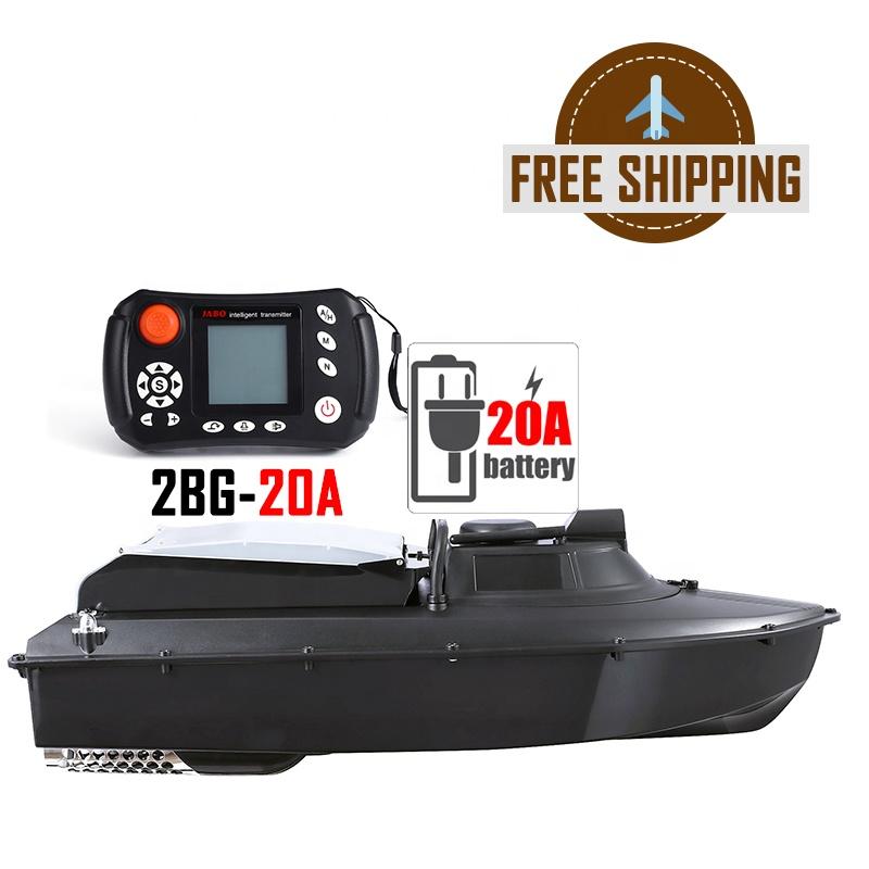 ยุโรปจัดส่งฟรี Dropshipping JABO 2BG เหยื่อตกปลาเรือ GPS SONAR Fish Finder 20A แบตเตอรี่ลิเธียมเยอรมนี Ready to Ship