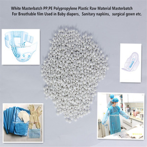 White Masterbatch PP,PE Polypropylene Plastic Raw Material For Breathable film