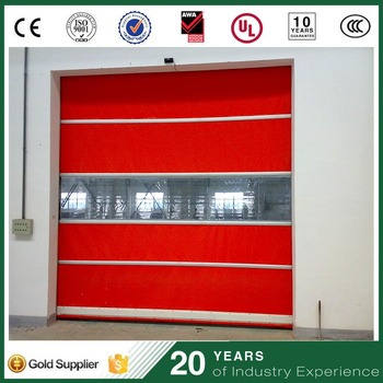 Cheap Pvc Material Electronic Roll Up Closet Door