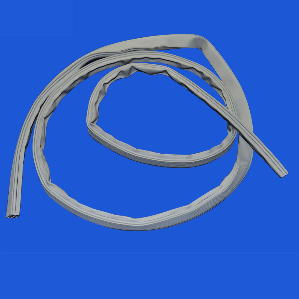 Magnetic refrigerator door silicone rubber seal strip gasket