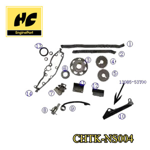 Timing chain kit used for nissan primera