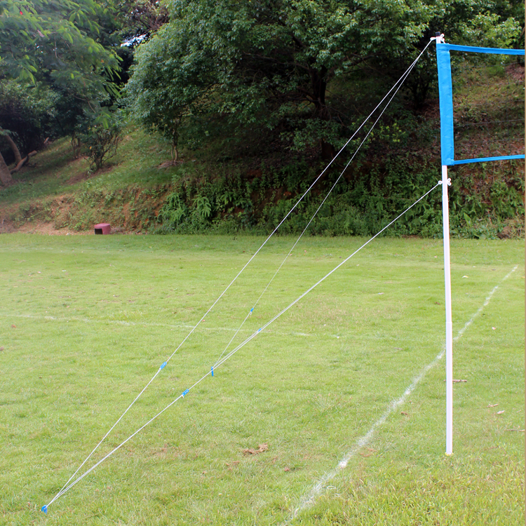 Outdoor Sports Volleyball and Badminton Set