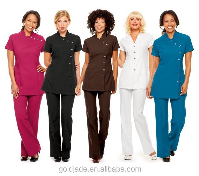 Personalizar sal n de belleza uniforme para sal n de for Spa uniform alibaba