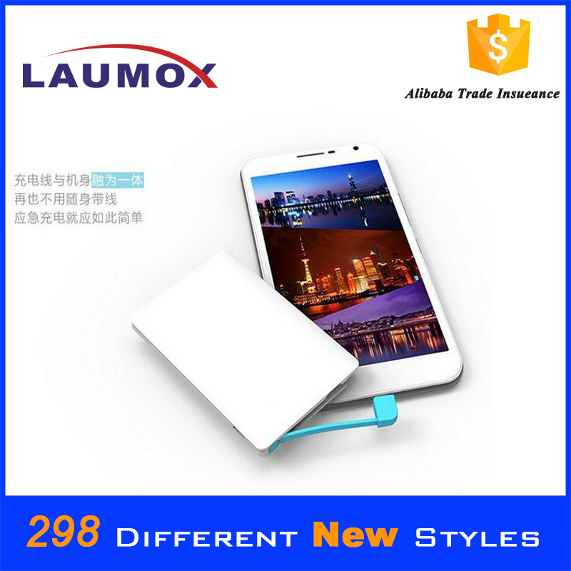 11.11 Global Sourcing Festiva,New products Disposable credit card 1000mah power bank 2600mah gift, made in China