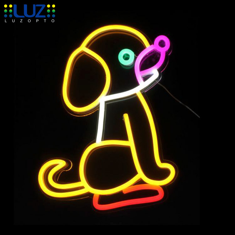 flex led light neon sign chinese custom neon sign