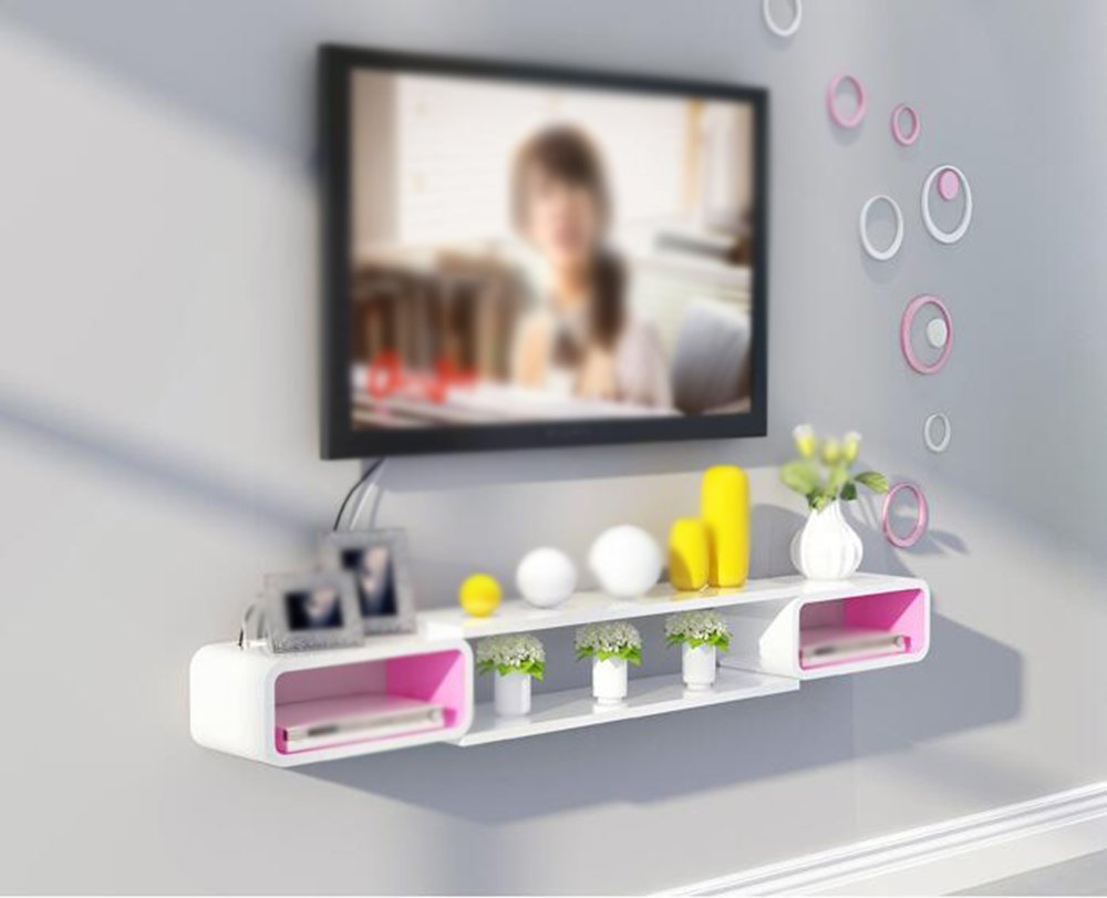 Buy TV cabinet Set-top box shelf / wall-mounted Shelf / wall ...
