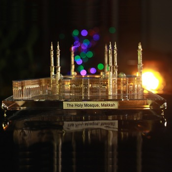 Islamic Gifts Holy Mosque Makkah Crystal Building Model, View religious  gifts, Topping gifts Product Details from Shanghai Topping Gifts Co , Ltd   on