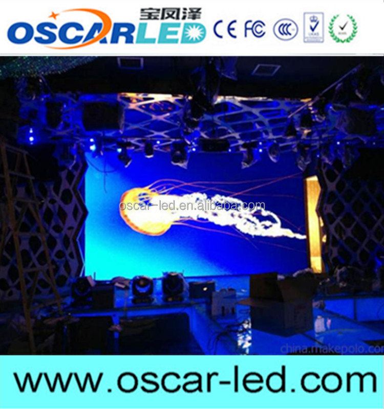 P5.95 Outdoor Rental LED Display Scree with Light Aluminum Cabinet