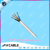 VDE Approved PVC Insulation H05VV-F Power Cord