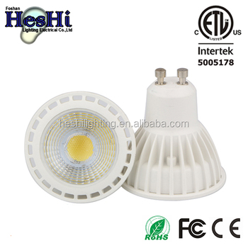Energy Saving Gu10 5watts Cob Led Light Bulb Soft Warm White 3000k ...