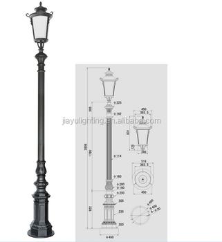 Australia Price Aliminum Outdoor Solar Gate Post Pillar Light Led Garden Path Lights