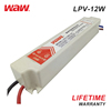 WODE Waterproof Ip67 High Power Supply Single Output Smps 5V Led Driver 12W