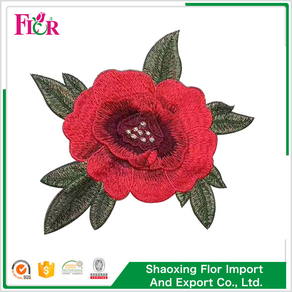 Cheap price custom indian embroidery patch applique for kids
