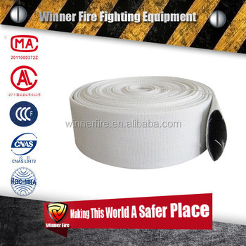 International High-performance Fire hose with rubber lining for Fire fighter