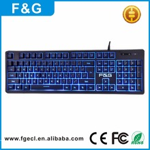 Best OEM Cheap Multimedia PC USB Wired gaming Keyboard with led backlit