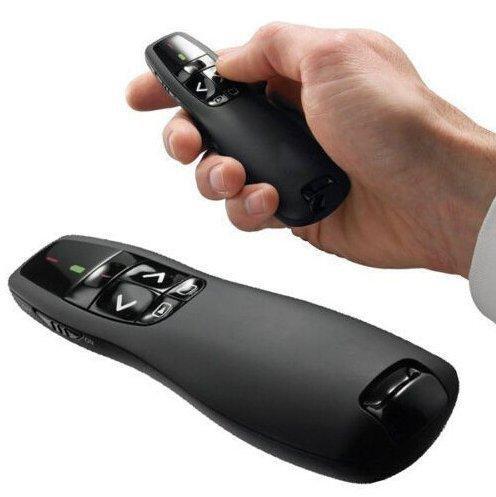 RF 2,4 GHz R400 Wireless Presenter USB-Fernbedienung Präsentationslaserpointer