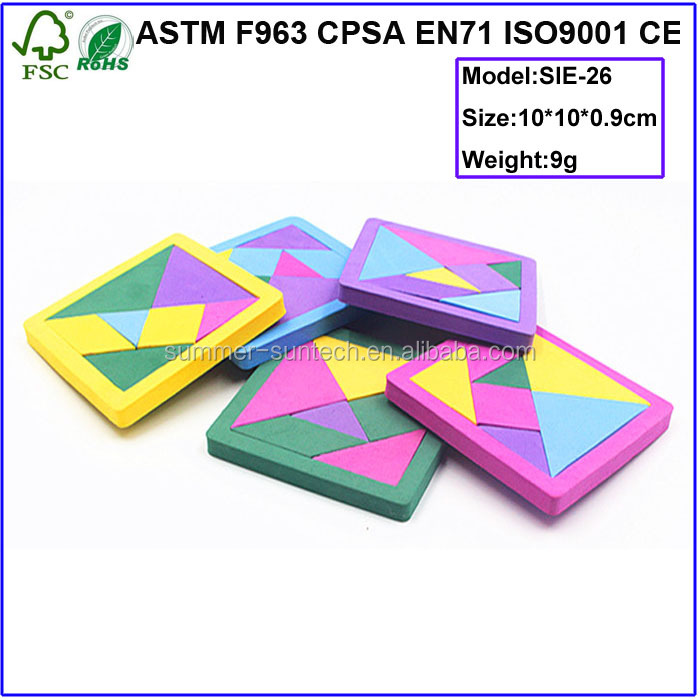 Colourful Eva Tangram Puzzle Game Buy High Quality Tangram Puzzle Game Handheld Puzzle Games Free Puzzles Games Product On Alibaba Com