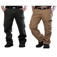 Multi Pocket Cargo Pants For Men 's Outdoor Hiking Quick Dry 8 Cotton 2 Spandex Pants
