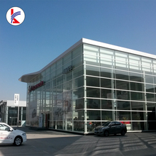 Light Steel Frame Structure Construction Exhibition Hall /4S Car Shop