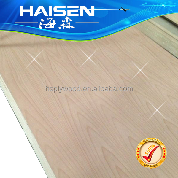 3.0MM Fancy Plywood Wbp/Mr Glue Red Beech Plywood