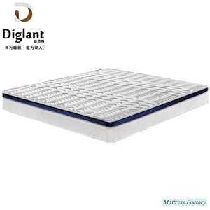 Factory Accept OEM 7-Zones Pocket Spring Bed Mattress in a Box
