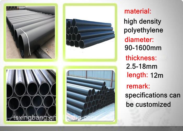 Pe80 Black And Yellow High Density Waterproof Polyethylene