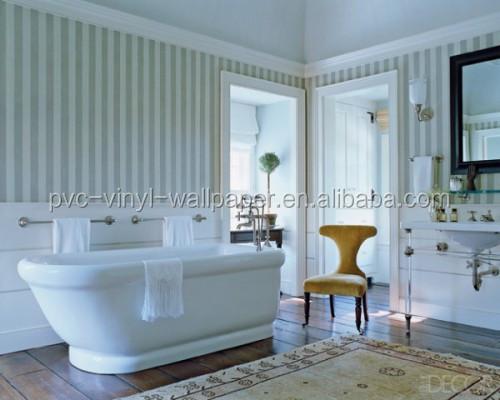 2015 nouveau papier peint tanche pour salles de bains vinyle papier peint - Papier vinyl salle de bain ...