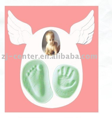 2d Babyprints Handprint and Footprint Photo Frame