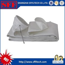First quality polyester bag filter cost for cement industry in china
