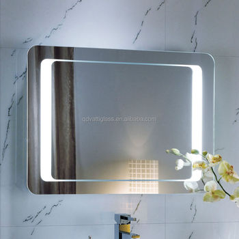 Badkamer Touch Schakelaar Led Licht Make Spiegels Decoratieve Muur ...