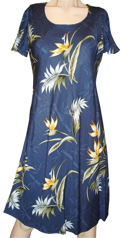 8665ab24bce3 Get Quotations · Bamboo Paradise Hawaiian Dress - Womens Hawaiian Dress -  Aloha Dress